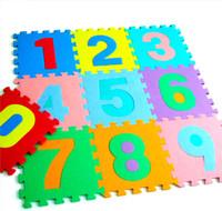 Baby Floor Mat Eva foam baby crawling mat child puzzle digital floor mats jigsaw puzzle carpet DD9001
