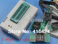 TL866A USB High Performance Willem Universal Programmer Support ICSP interface+Socket SOP8 SOP16 PLCC32 PLCC44+ IC picker