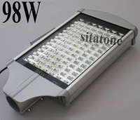 2 years warranty free shipping sale 98W led street light AC85-265V IP65 130-140LM/W LED 98*1w led street light