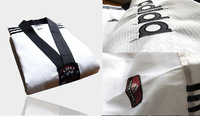 High quality  low price  taekwondo uniforms/ suits/ dobok size 160,170,180,190 white color suitable for both men and women