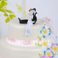 Free shipping  wedding cake topper  resin carft