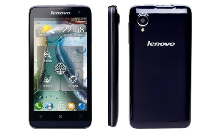 Lenovo Music Phone P770 smartphone 4.5 inch IPS QHD screen Android 4.1 MTK6577 dual-core 1G memory 3G GPS 3500mAh battery(China (Mainland))