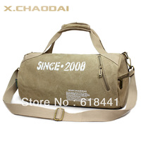 2013 free shipping Fashion sports drum bag cross-body gym bag casual canvas bag 03