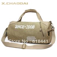 2013 free shipping Fashion sports drum bag cross-body gym bag casual canvas bag 03