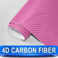Flexible 4d Car Film Carbon Wrap Vinyl Film