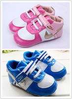 Free Shipping Fashion Girl Brand Baby Shoes Cute Pink Non-slip Baby Shoes Comfortable Shoes