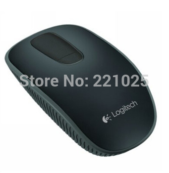 discount price for Original New Logitech T400 black 2.4Ghz Multi-touch Wireless Mouse mice support the Win8 Free Shipping
