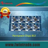 CMYK 1 set packing for mimaki jv3/jv5/jv33/ cjv30 130sp/160sp/250sp printer Permanent BS3 chip