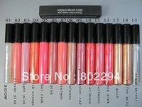 15pcs/lot Makeup Lip gloss 1.92g !! 15 Color !Free Shipping