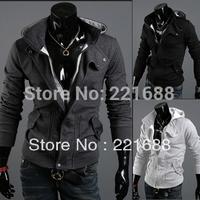 New coats men outwear Mens Special Hoodie Jacket Coat men clothes cardigan style jacket size /M L XL XXL XXXL