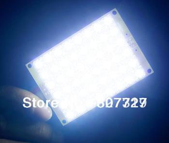 1pcs Super Bright 12V white Light 48 LED Piranha LED Panel Board Lamp lighting Freeshipping Wholesale Retail