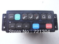 JINSION  high quality  Doosan daewoo S220LC-V  excavator air conditioner control panel 543-00049 Manufacturer FREE SHIPPING