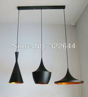 Free Shipping Hot Selling Super Quality Britain Style Tom Dixon Beat pendant Light (one set )