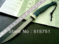 buck 220 folding blade knife,440c steel,ABS anti-slip grip with lanyard,Multifunctional utility knife,free shipping