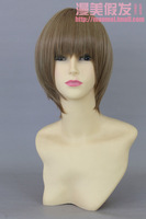 Gintama Okita Go / kimi to boku / Asawa Yuki Free shipping cosplay wig short party wigs syntetic hair anime products CWF0496