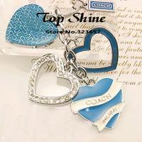 2014 New Chaveiro Kill Offer Trinket Keychains Fashion Keychain Jewelry Women Rhinestone Pendant Car Brand Gift Free Shipping