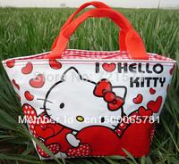 Cartoon cute Hello kitty Pretty lunch bag Girls