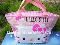 Xmas Gift Hello kitty cute lunch bag Girls Handbag #53