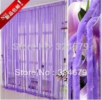 Hot& 2014 NEW!Fashion Coarse velvet lines curtain /door/window/living room curtain
