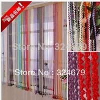 Hot&!2014 NEW!Fashion   lines curtain /door/window/living room curtain tube curtaun
