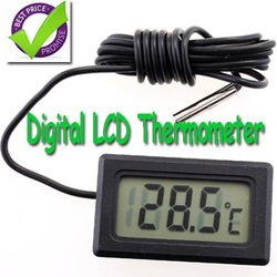 LCD Fridge Freezer Temperature Digital Thermometer, free shipping, dropshipping(China (Mainland))