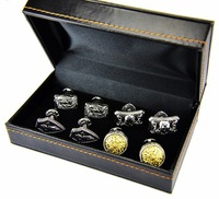 Free Shipping By FedEx/ Royal Cufflinks Plated With Platinum And Gold/  Chic Men's Jewelries/ Breath Taking Sparta Cufflinks