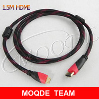 1pcs/lot1.5M High Quality Mini HDMI to HDMI Male Cable For HDTV DVD DV