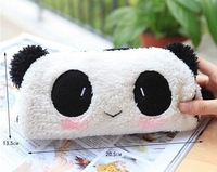 Wholesale 100PCS  Kawaii Panda Plush Pen Pencil BAG Pouch Case, Coin Purses & Wallet BAG Cosmetics Beauty BAG Case, Pouch Holder