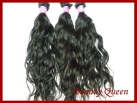 6a Unprocessed Queen Hair Products 3 pcs Lot Brazilian Virgin Hair Extension Natural Wave Human Hair Weaves DHL Free Shipping