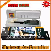 DHL/EMS shipping 10pcs/lot Mastech MS8910 SMD resistance capacitance RC tester multimeter auto scan 2 pins vs FLUKE
