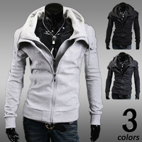 Free shipping Hot selling 2014 New Winter&Autumn Men's Fashion Brand Hoodies Sweatshirts Casual Sports Male Hooded Jackets