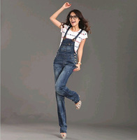 Free shipping new women's denim overalls coveralls pants jumpsuit #G299