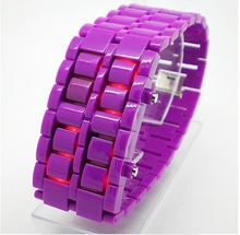 Fashion Lava LED Watch digital hours back light Unisex Casual Watches Hot Sale plastic sports watches New 2014(China (Mainland))