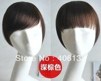 hot sale 100% human hair, human hair bang, human hair Tilted frisette,neat bang,bang.