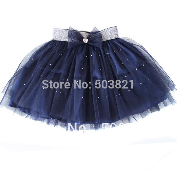 Como hacer falda de tul para niña - Imagui