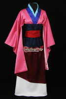 Cheap Custom-made Adult Asian mulan Princess Costume