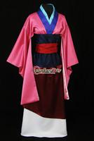Cheap Custom-made Adult Asian mulan Princess Costume