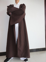 Free Ship STAR WARS JEDI Hooded Robe Cloak Cape Costume Sz:L (175-195cm) Christmas Gift