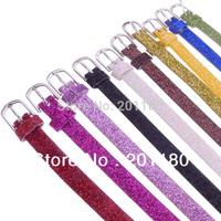 Free Shipping Wholesale 100pcs/lot Leather Buckle Belt Charm Bracelets Women Men Bangles Fit 8mm Beads Jewelry Findings DIY