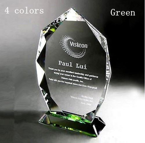 2013 New arrival!Free Shipping Crystal Medal Can sandblasting word Business Awards Gifts 4colors(China (Mainland))