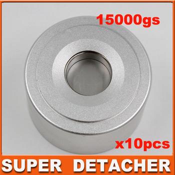 strongest Universal Magnetic detacher Checkpoint EAS Hard Tag Detacher eas tag Remover  15,000GS  10pcs/lot