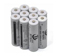10x 5000mAh 3.7V 18650 NCR Li-ion LED Flashlight Torch Rechargeable Battery Pack 1lot
