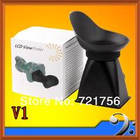 "2.8X 3"" LCD Viewfinder Magnifier Eyecup Extender V1 F  5D Mark II 7D"