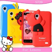 For Lenovo s720 mobile phone case cell for  lenovo s720 phone case protective case silica gel set