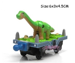 100% original!!! Learning Curve Chuggington Diecast Train Toy Dinosaur car T27 free shipping(China (Mainland))