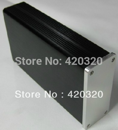 HOT sell mini Full aluminum Power amplifier chassis/ headphone amp case DIY free shipping(China (Mainland))
