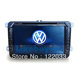 8 Inch Car DVD GPS for VolksWagen Touareg with FM/AM Radio,TV,Bluetooth,AUX function(China (Mainland))