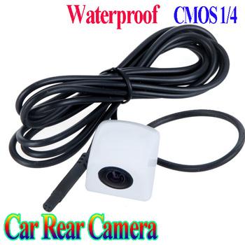 White Car Rear View Reverse Backup Parking Camera Waterproof CMOS vehicle rear camera NTSC/PAL free shipping Wholesale