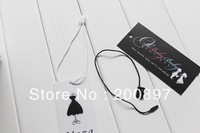 Promotion wholesale nylon manual string seal for garment hang tag string 1000pcs/lot