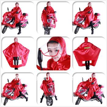Free Shipping Motorcycle ebike rain poncho